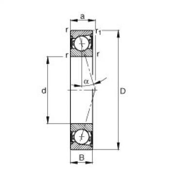Rodamiento B71900-C-2RSD-T-P4S FAG