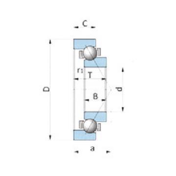 Rodamiento BA280-2SA NSK