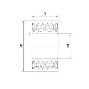 Rodamiento BD22-2ENX1 NSK