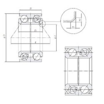 Rodamiento AU0818-1LXL/L260 NTN