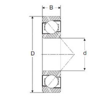 Rodamiento MJT 2.3/4 SIGMA