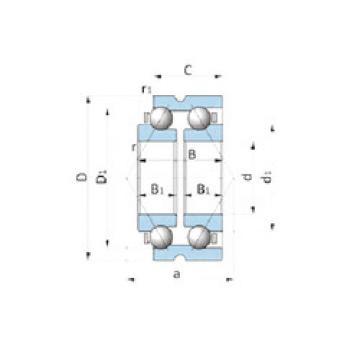 Rodamiento BD185-6A NTN
