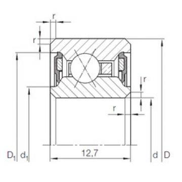 Rodamiento CSXU 075.2RS INA