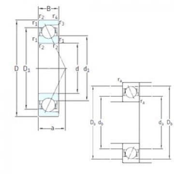 Rodamiento E 200/105 7CE1 SNFA
