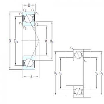 Rodamiento E 212 /S/NS /S 7CE3 SNFA