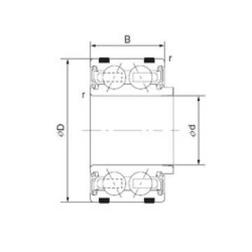 Rodamiento EC-DF0774LLAXPX1V4 NTN