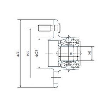Rodamiento F28BVV10-M3 NACHI