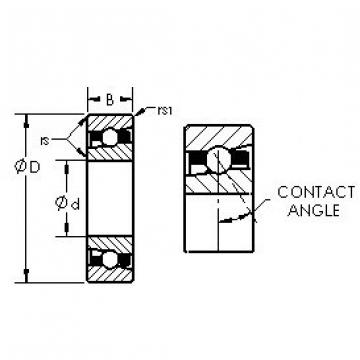 Rodamiento H7017C/HQ1 AST