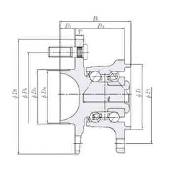 Rodamiento HUB004T-1 NTN