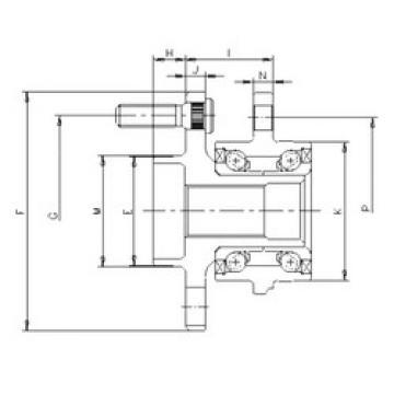 Rodamiento IJ123022 ILJIN