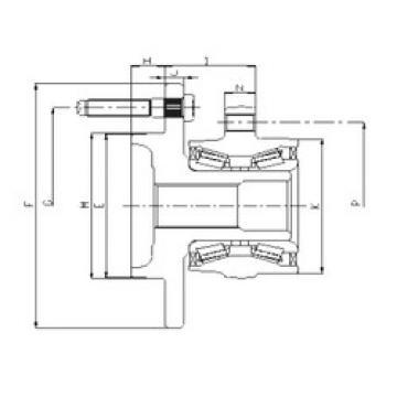 Rodamiento IJ223018 ILJIN