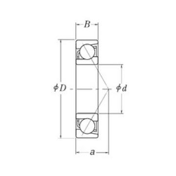 Rodamiento MJT3.1/4 RHP