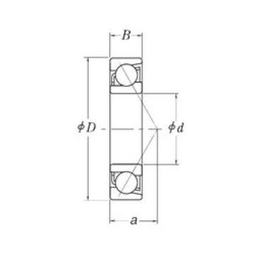 Rodamiento MJT5/8 RHP