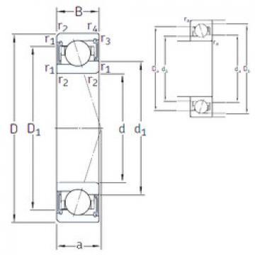Rodamiento VEB 55 /S 7CE1 SNFA