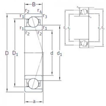 Rodamiento VEB 45 /NS 7CE1 SNFA