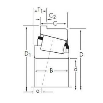 Rodamiento X32311M/Y32311RM Timken