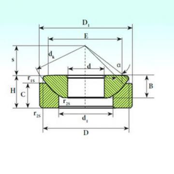 Rodamientos GX 45 CP ISB