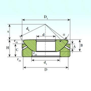Rodamientos GX 60 S ISB
