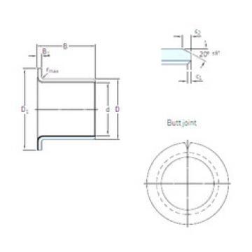 Rodamientos PCMF 252816.5 E SKF