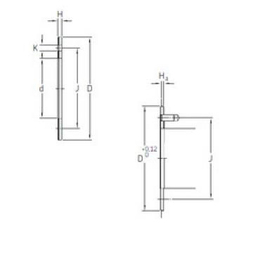 Rodamientos PCMW 223801.5 E SKF