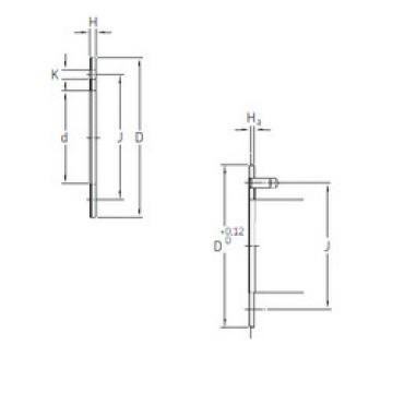 Rodamientos PCMW 527802 E SKF
