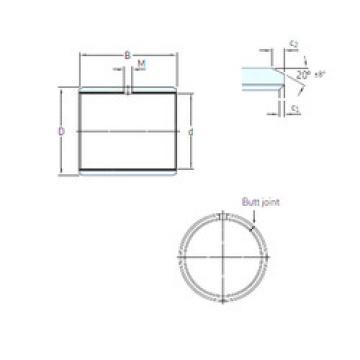 Rodamientos PCZ 4040 E SKF