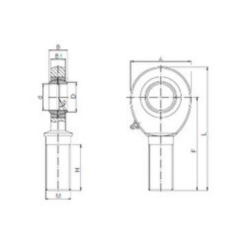 Rodamientos SAL 12 ISO