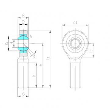 Rodamientos SA80ET-2RS LS