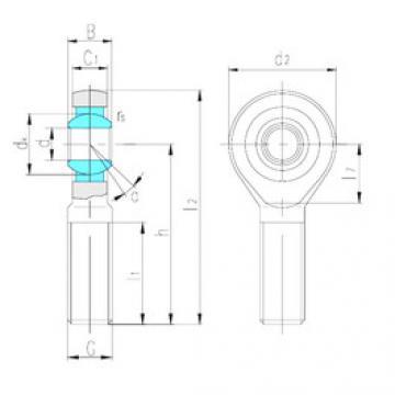 Rodamientos SA80ES LS