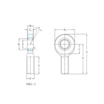 Rodamientos SAL30C SKF