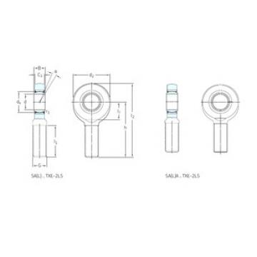 Rodamientos SA50TXE-2LS SKF
