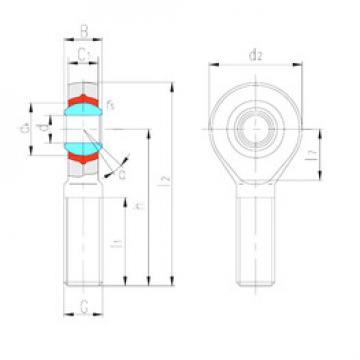 Rodamientos SABP14N LS