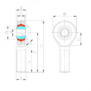 Rodamientos SABP18N LS