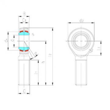 Rodamientos SABP28S LS