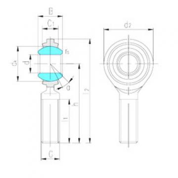 Rodamientos SAJ16 LS
