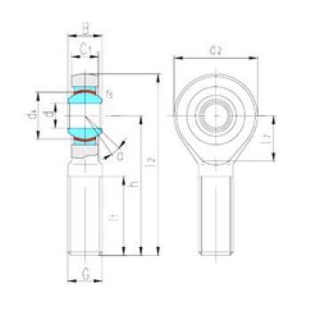 Rodamientos SAK6C LS