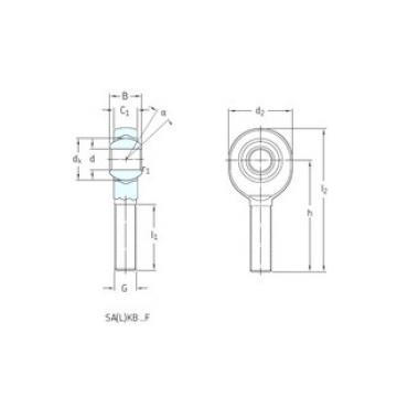 Rodamientos SAKB16F SKF