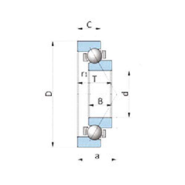 Rodamiento BA280-2SA NSK #1 image
