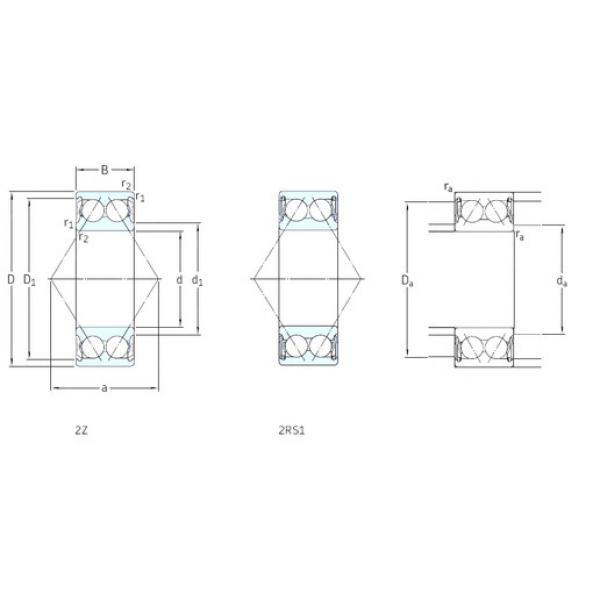 Rodamiento E2.3212A-2Z SKF #1 image