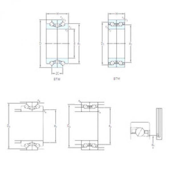 Rodamiento BTM 100 ATN9/HCP4CDB SKF #1 image