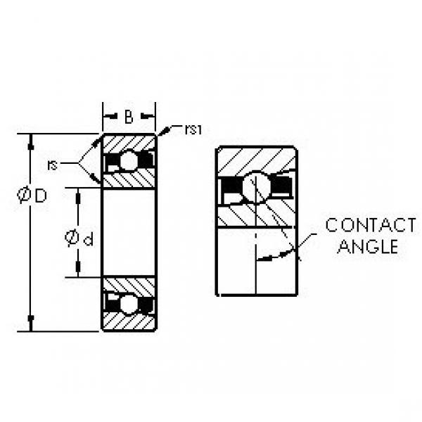 Rodamiento H7018AC/HQ1 AST #1 image