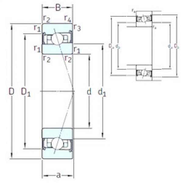 Rodamiento HX110 /S/NS 7CE3 SNFA #1 image