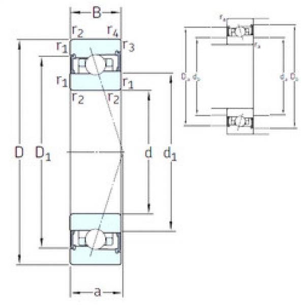 Rodamiento HX55 /S/NS 7CE3 SNFA #1 image