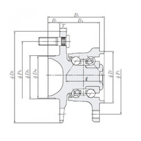 Rodamiento HUB231-10 NTN #1 image