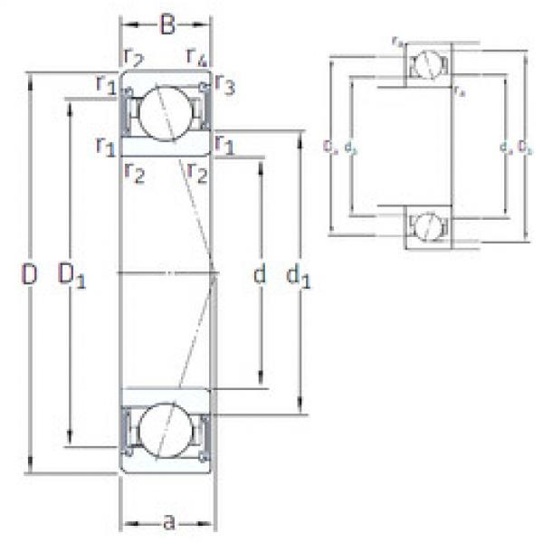 Rodamiento VEB 50 /S 7CE3 SNFA #1 image