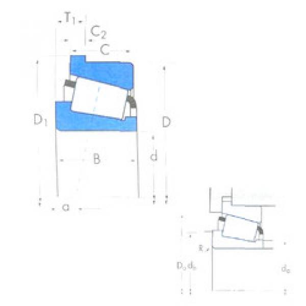 Rodamiento X30210CM/Y30210CRM Timken #1 image