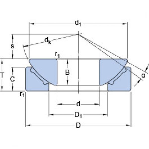 Rodamientos GX 45 F SKF #1 image