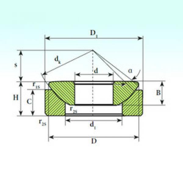Rodamientos GX 40 SP ISB #1 image