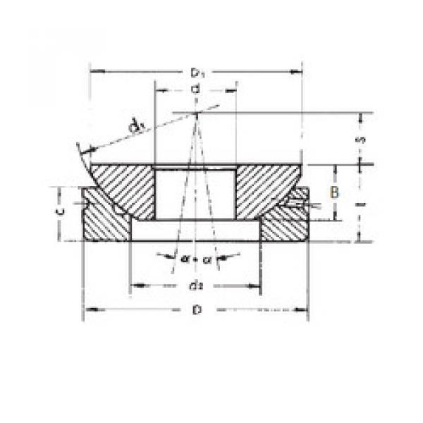 Rodamientos GX100S FBJ #1 image