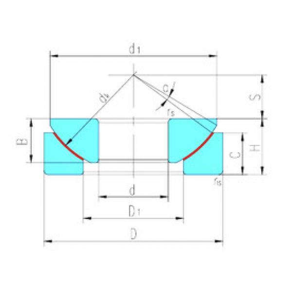 Rodamientos GX17T LS #1 image